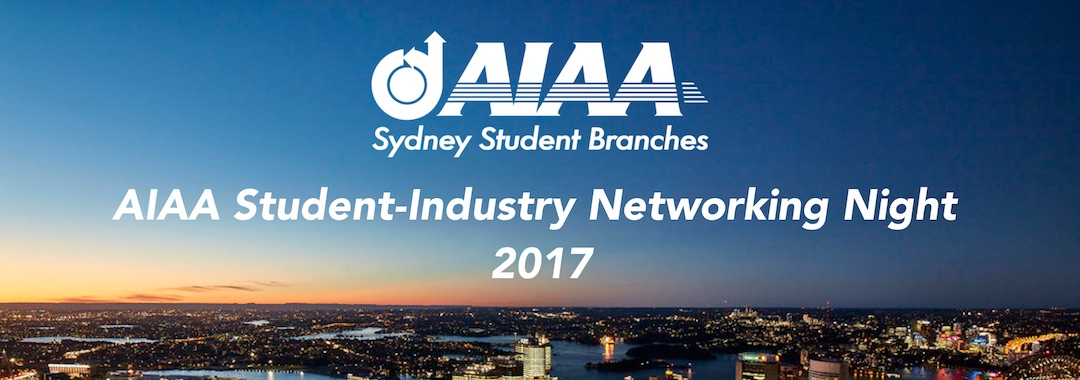 AIAA UNSW Student-Industry Networking Night 2017