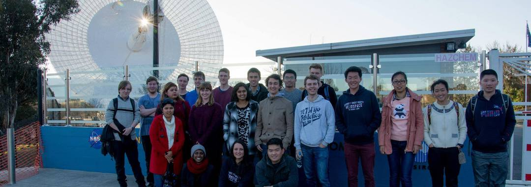 AIAA UNSW USSB Canberra Tour 2017