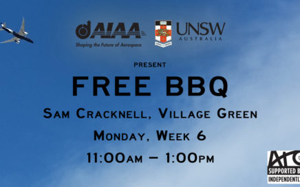 AIAA UNSW Week 6 BBQ