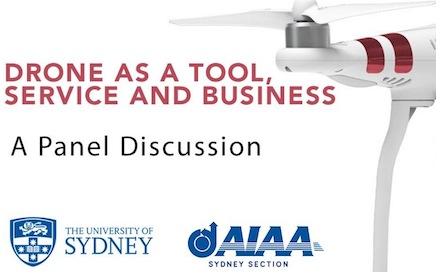 AIAA UNSW Drones as a Tool Panel