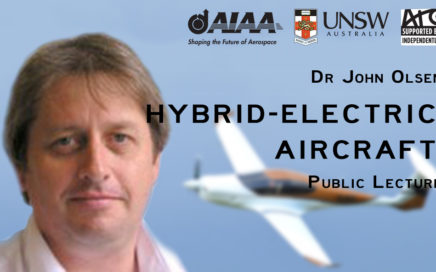 AIAA UNSW Dr. John Olsen Hybrid Aircraft Public Lecture