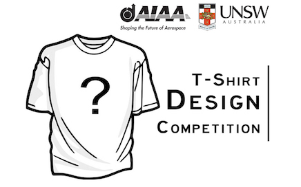 AIAA UNSW T-Shirt Design Competition